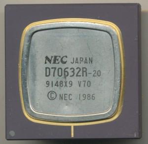 NEC D70632R-20 V70 Processor