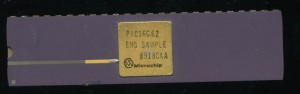 Microchip PIC16C62 ENG SAMPLE - 1989