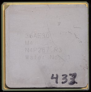 Oracle SPARC M4 Wafer # 1 - No date, likely early 2011.