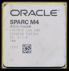 Oracle SPARC M4 PG 2.1.0 Sample from August 2012