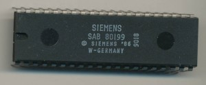 Siemens SAB80199 made in 1990, and still marked 'W. GERMANY'