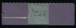 Siemens SAB80199 - Introduced 1983 @ 20MHz This example is made in 1985