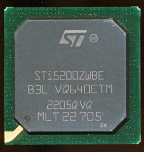 ST STi5200 - 266MHz Hitachi SH-4 based