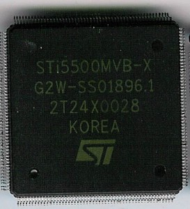 ST STi5500 - The Original 50MHz Transputer based Omega