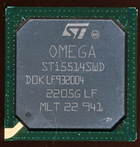 ST STi5514 - Enhanced 180MHz Omega