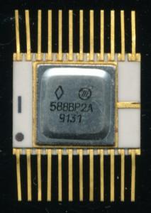 Soviet Integral 588VR2A - CDP1855 'Analog' from 1991