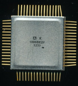 Milandr K1886VE2U PIC17C756A w/ Flash Memory