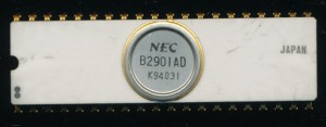 NEC B2901AD - Just based on this simgle chip, one coud cllect: White ceramics, Bit Slice processors, 2nd sources, NEC processors....