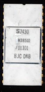 Signetics M38510-01101BJC-DKB - Military TTL 54181 ALU