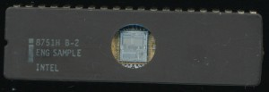 Intel 8751H B-2 ENG. SAMPLE - 1985 -HMOSII-E - 2u