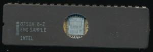 Intel 8751H B-2 ENG. SAMPLE - 1985 -HMOSII-E - 2u