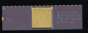 Intel C8051-3 - 1981 - Original 3.5u HMOS-E