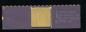 Intel C8051-3 - 1981 - Original 3.5u HMOS-E