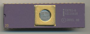 Intel C8751-8 - 1982 - Orignal 3.5u HMOS-E