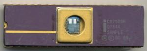 Intel C8752BH Q7644 SAMPLE - 1987 - HMOSIII-E 1.5u