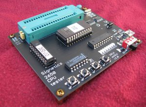 Signetics 2650 Test Board