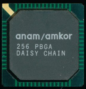 Anam/Amkor Test package