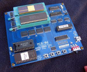 MCS-86 Test Board **