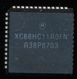 Motorola XC68HC11A0FN - 1987 - Preproduction, Enhanced 6801