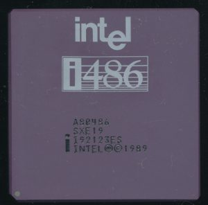 Intel A80486DX SXE19 Engineering Sample - May 1989