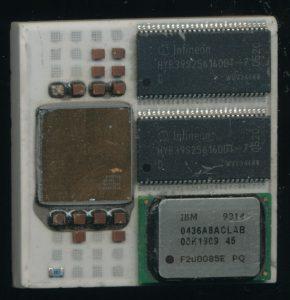 Cadence Palladium MCM - 256 core processor + 64MB DRAM + 1MB SRAM