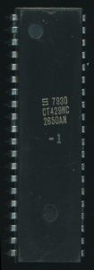 Signetics 2650AN-1 - Revised version, 1979 marked -1 as it was tested to work at 2MHz