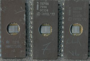 National 2758 - Intel 2758 (1979) - Intel 2758 (1980)