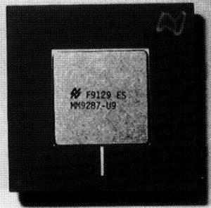 GRAPE-3 Chip - 10MHz single pipeline - National Semiconductor ASIC -1991