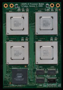 GRAPE-6 Module - 4 Processors + 4MB of SSRAM