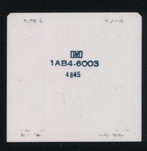1AB4-6003 RALU -Silicon on Sapphire - 8000 Transistors