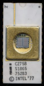 C2758 S1865 - Defective 2716 die using only the upper 8k