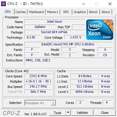Xeon Overclocking: Making Gallatin Gallop   The CPU Shack Museum