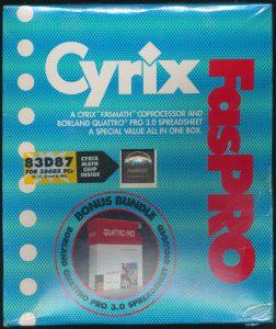 Cyrix 83D87 386 FPU