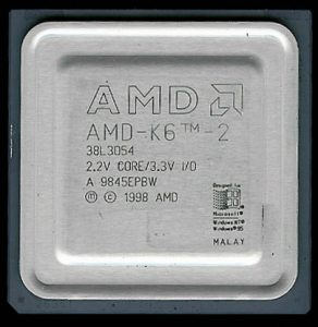 AMD K6-2 38L3054 - 337MHz